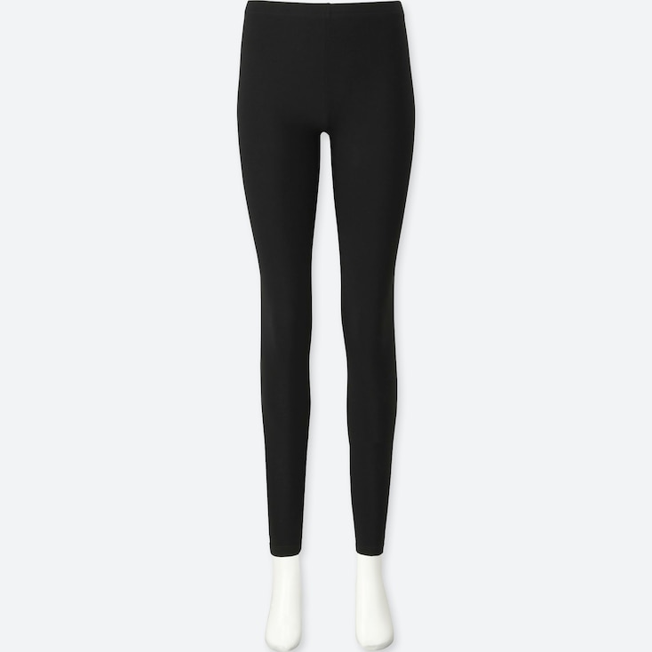 WOMEN LEGGINGS, BLACK, large