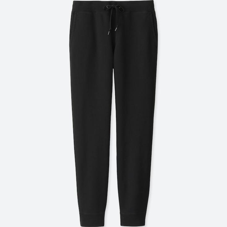 Men Sweatpants, Black, Large