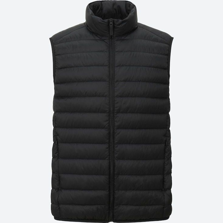 Ultra Light Down Vest, BLACK, large