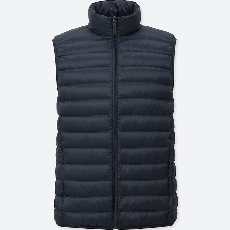 Ultra Light Down Vest, NAVY, large