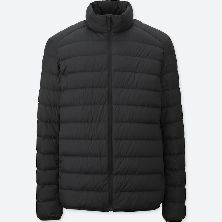 Ultra Light Down Jacket, BLACK, large