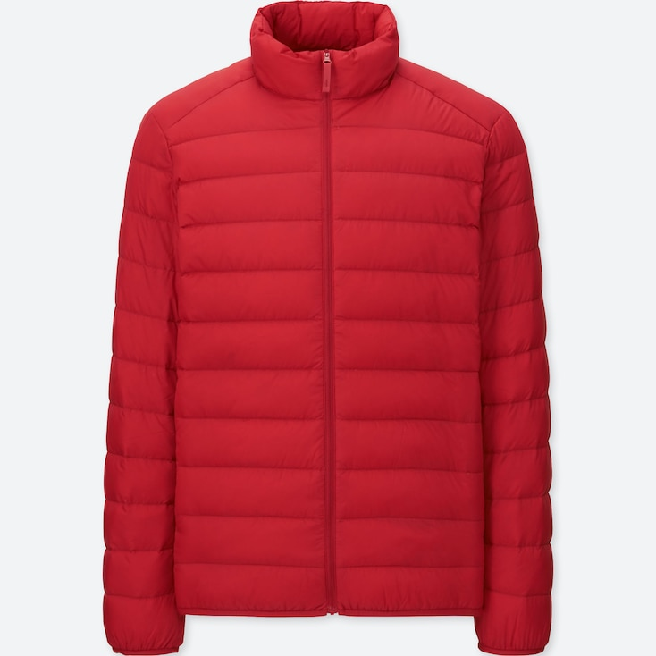 Ultra Light Down Jacket, Red, Large