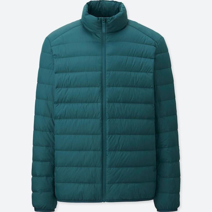 Ultra Light Down Jacket, GREEN, large