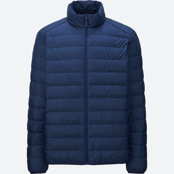 Ultra Light Down Jacket, Blue, Large