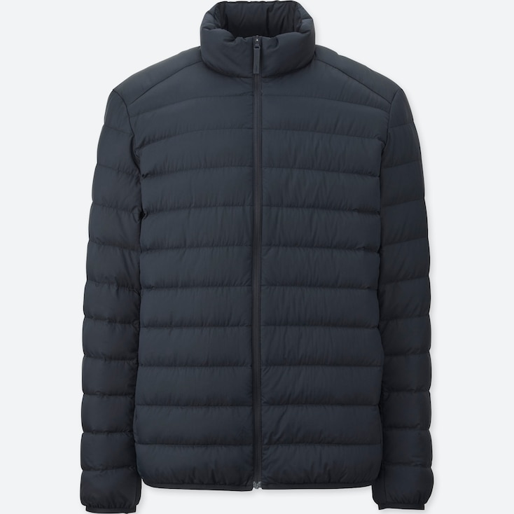 Ultra Light Down Jacket, Navy, Large