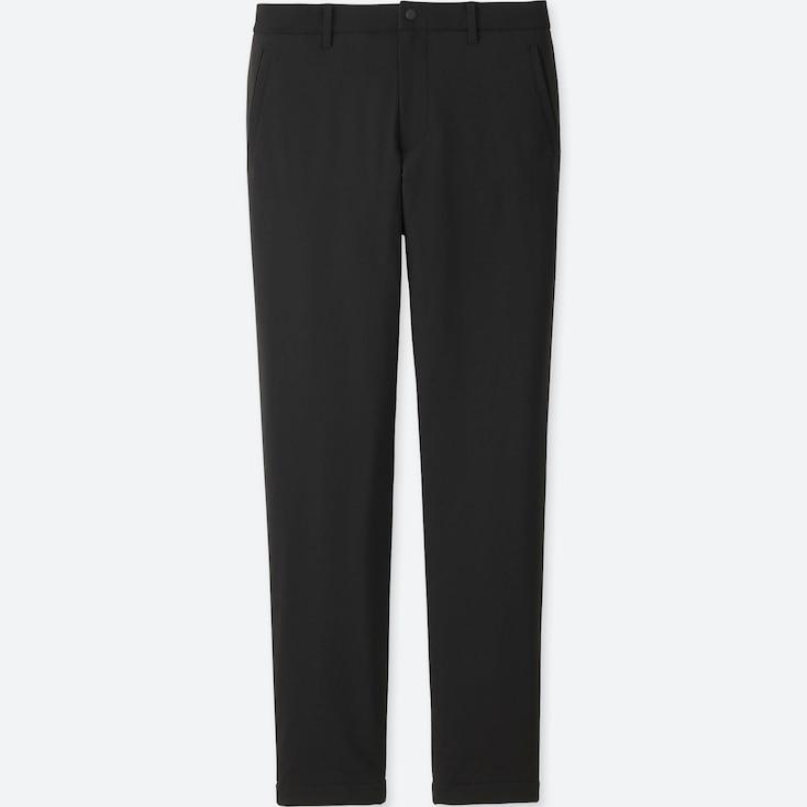 Men Blocktech Warm-Lined Pants, Black, Large