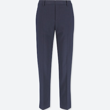 WOMEN SMART ANKLE LENGTH TROUSERS (L28)