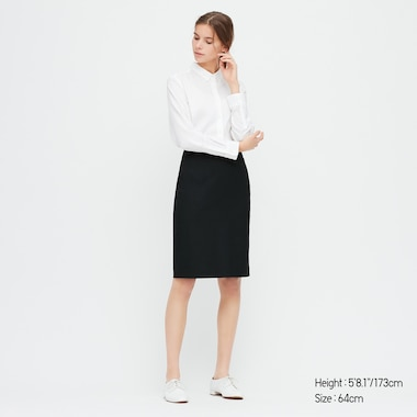 WOMEN STRETCH SUIT PENCIL SKIRT