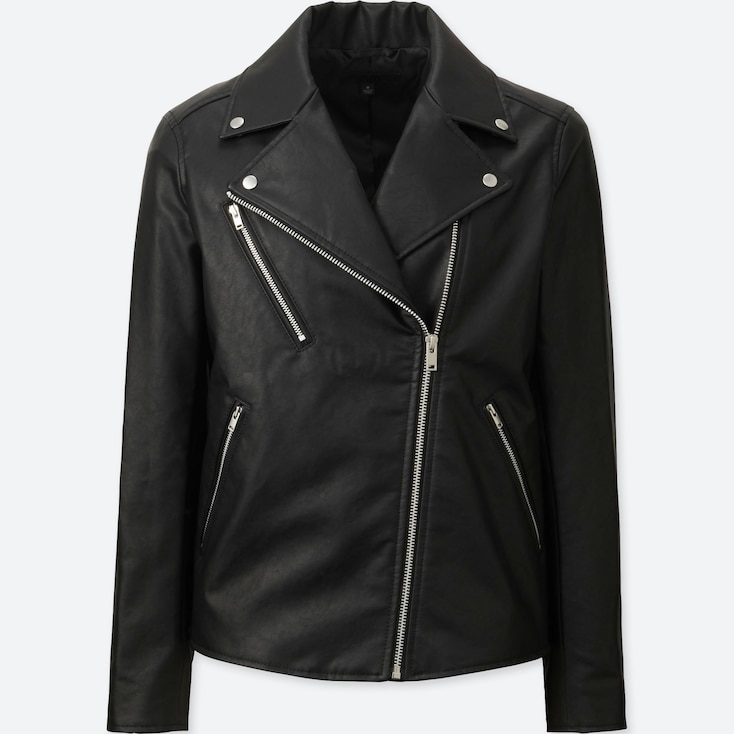 WOMEN RIDERS JACKET, BLACK, large