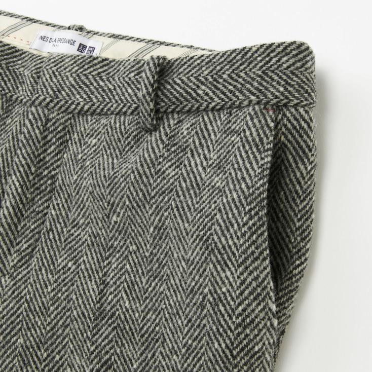 Women Idlf Tweed Pants, Dark Gray, Large