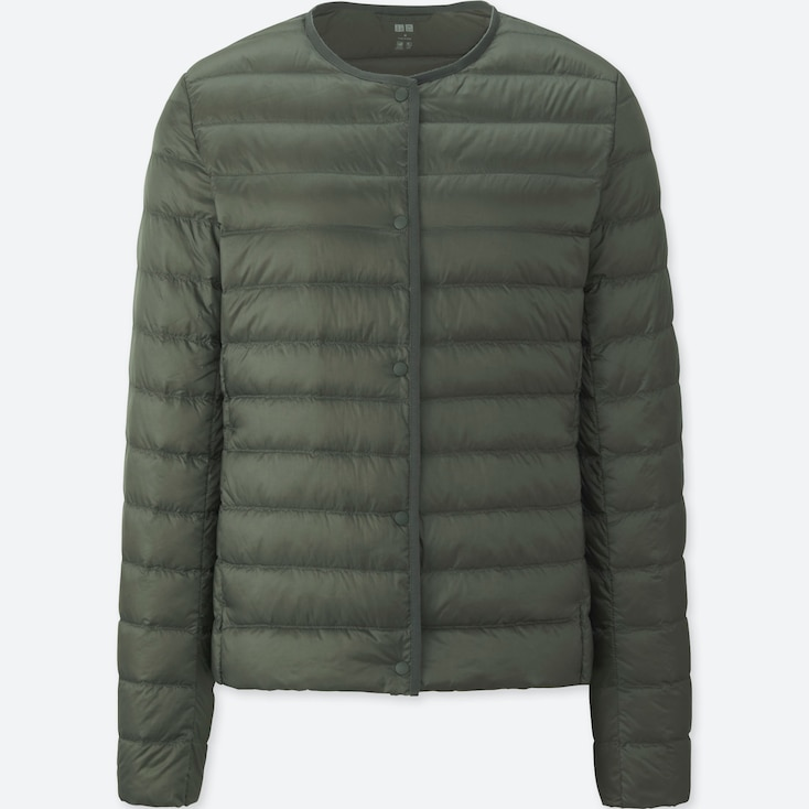 Women Ultra Light Down Compact Jacket, Green, Large