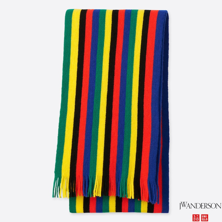 J.W.Anderson STRIPED SCHOOL SCARF, Other, large