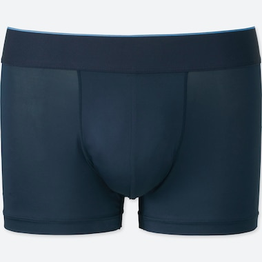 Men Airism Low-Rise Boxer Briefs, Navy, Medium