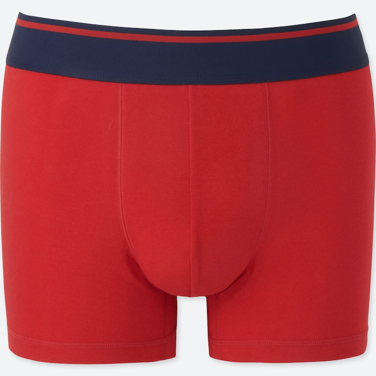 MEN SUPIMA® COTTON LOW-RISE BOXER BRIEFS, RED, large
