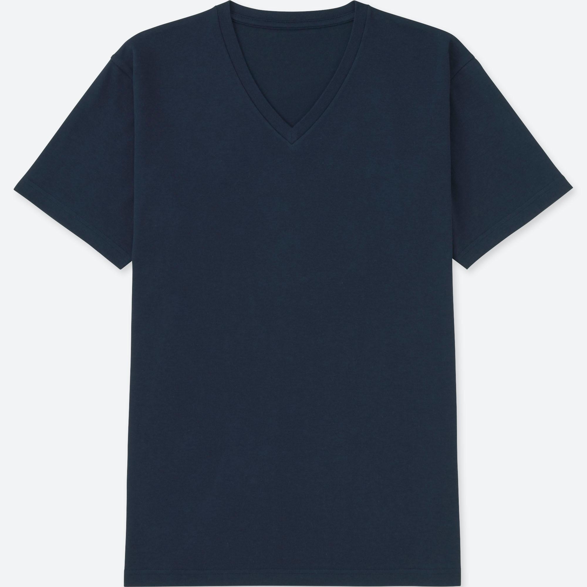 Uniqlo Heattech Crew Neck Short Sleeve T-shirt Small Men Navy