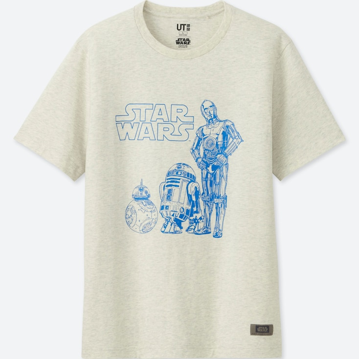 MEN STAR WARS: THE LAST JEDI GRAPHIC T-SHIRT, OFF WHITE, large