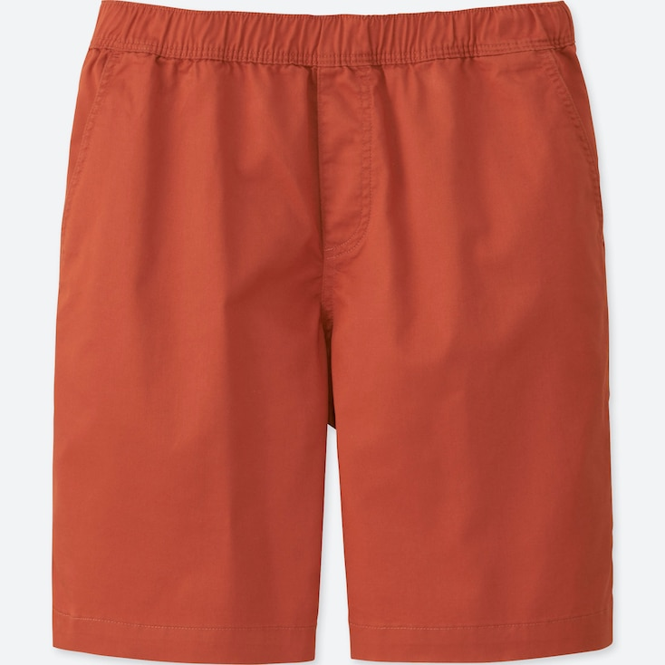 MEN DRY STRETCH EASY SHORTS, RED, large
