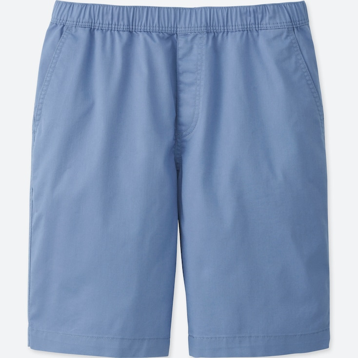 MEN DRY STRETCH EASY SHORTS, BLUE, large