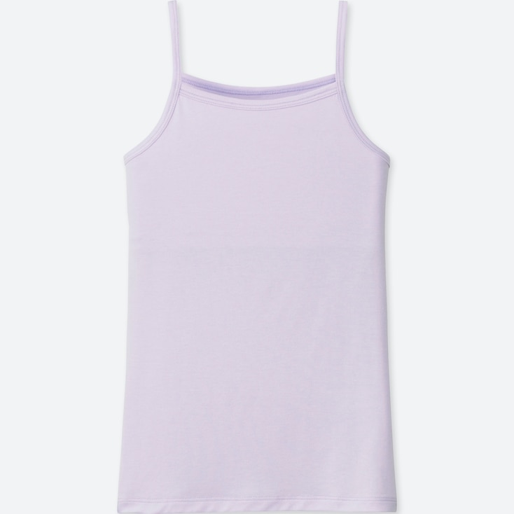 GIRLS AIRism CAMISOLE, LIGHT PURPLE, large
