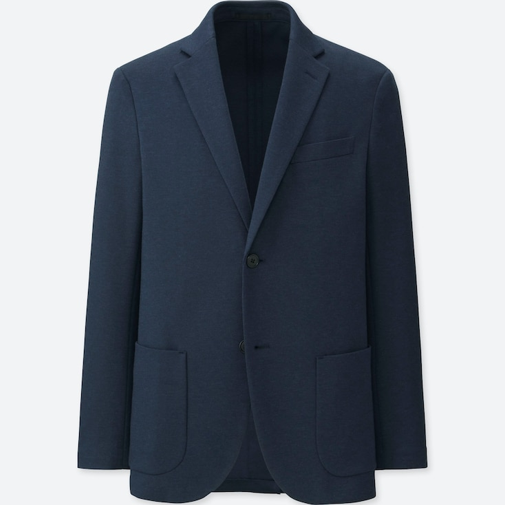 MEN COMFORT JACKET, NAVY, large