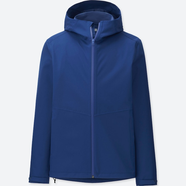 MEN BLOCKTECH PARKA, BLUE, large