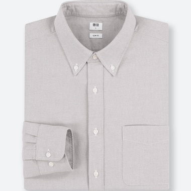 HERREN OXFORD-HEMD (SLIM FIT, BUTTON-DOWN-KRAGEN)