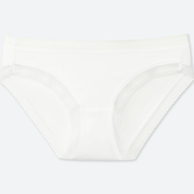 WOMEN BIKINI, WHITE, medium
