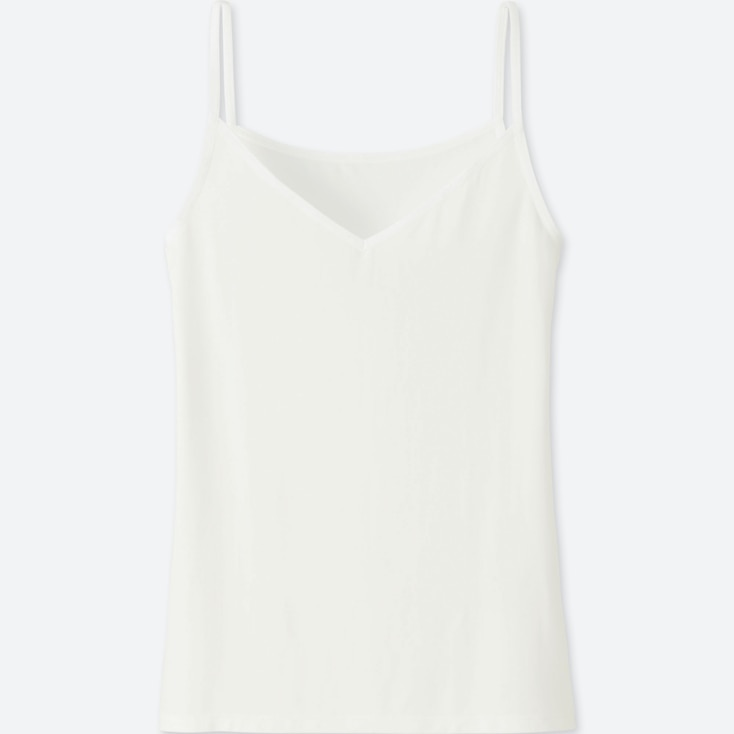 WOMEN AIRism CAMISOLE, WHITE, large