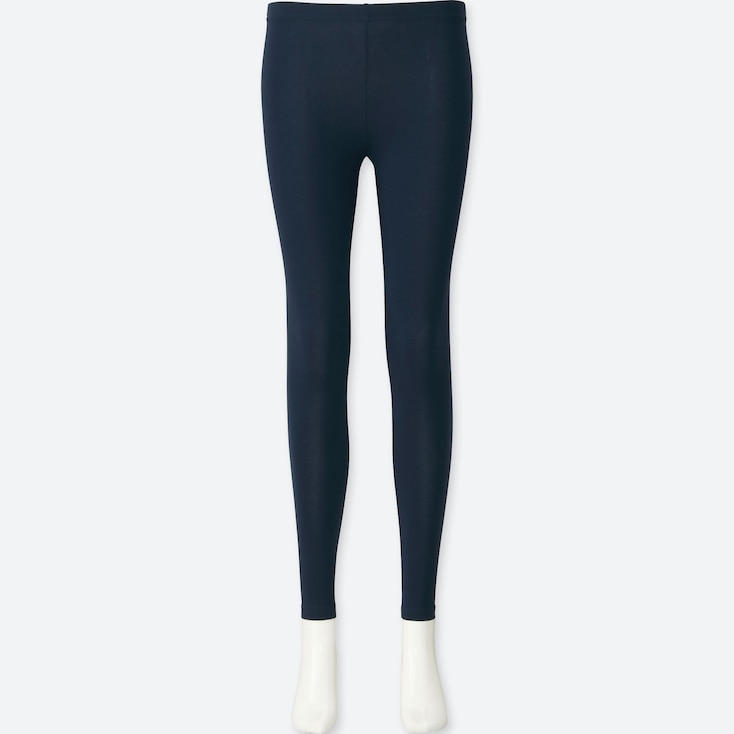 WOMEN LEGGINGS, NAVY, large