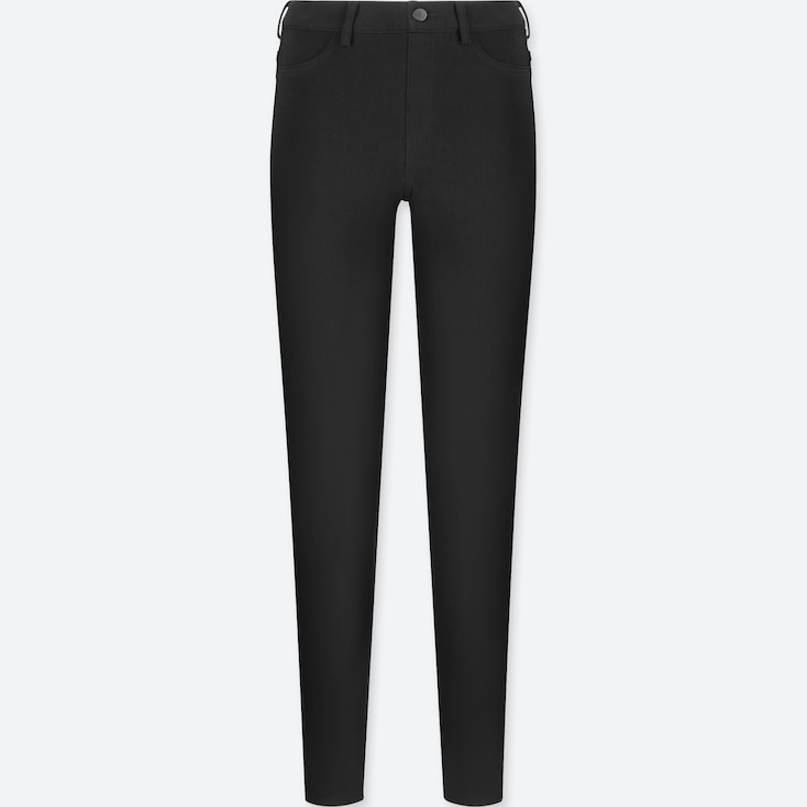 Women Leggings Pants, Black, Large