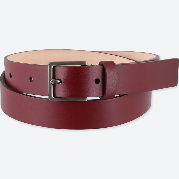WOMEN CLEAN BELT, RED, large