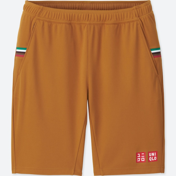 MEN DRY SHORTS (KEI NISHIKORI), BROWN, large