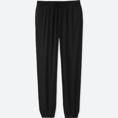 WOMEN DRAPE CROPPED FIT LOUNGE JOGGERS