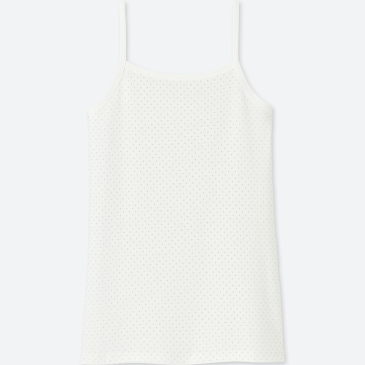 GIRLS AIRism CAMISOLE, WHITE, large
