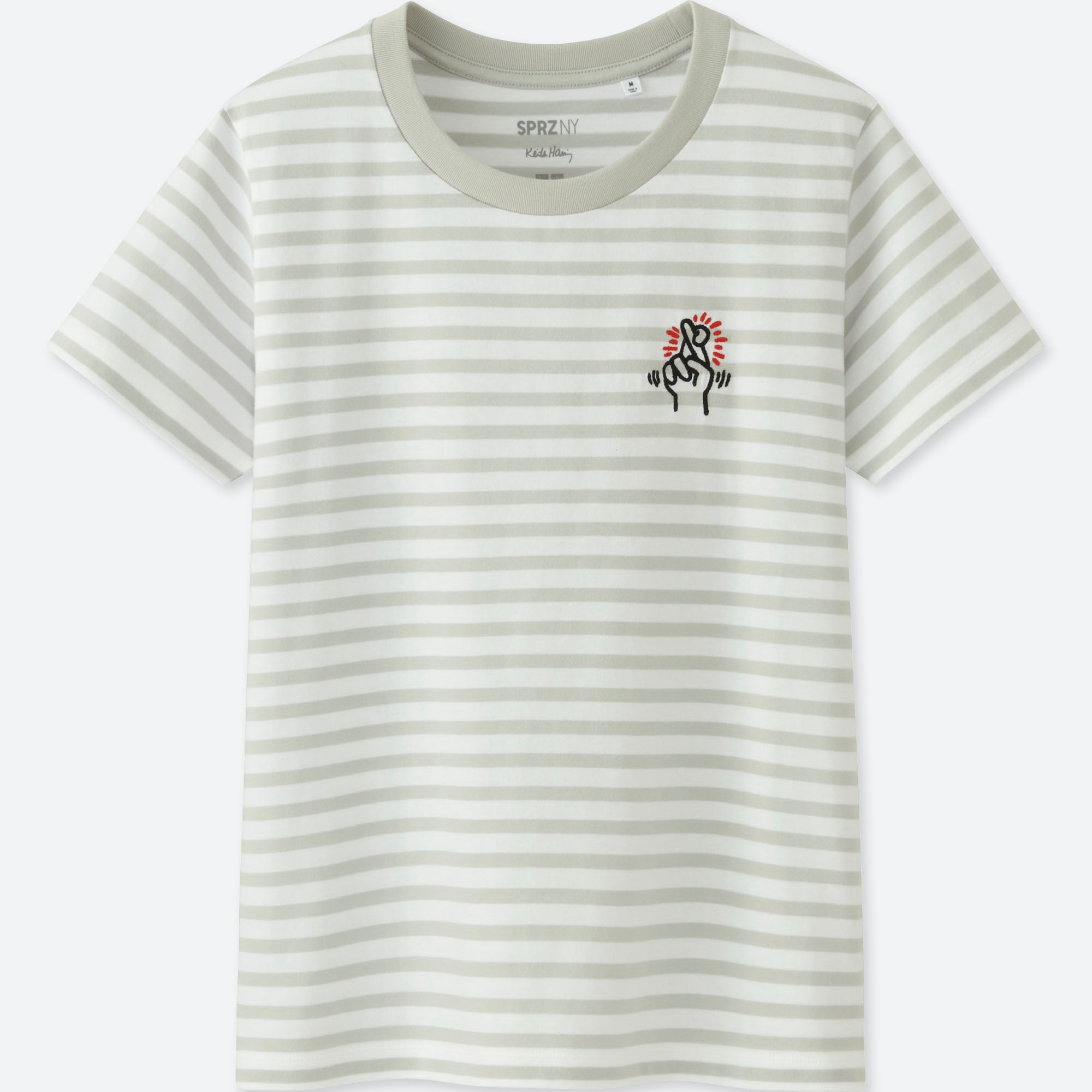 women sprz ny keith haring graphic t shirt uniqlo us. Black Bedroom Furniture Sets. Home Design Ideas