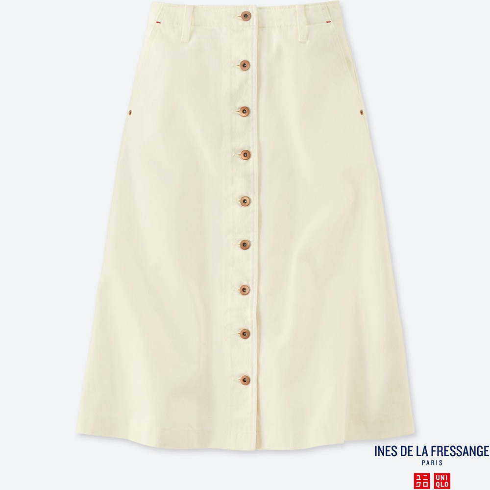 differently 100% top quality reasonably priced WOMEN IDLF DENIM FLARED MIDI SKIRT | UNIQLO US