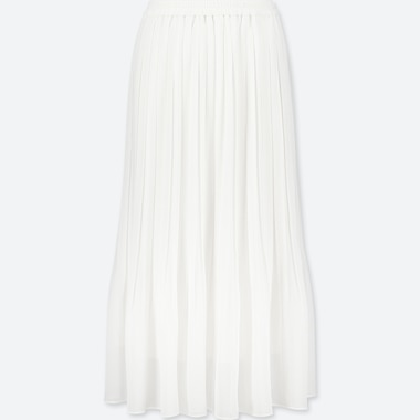 0de5db35cb WOMEN HIGH-WAIST CHIFFON PLEATED SKIRT | UNIQLO US