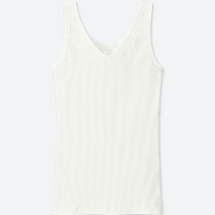 WOMEN Supima Cotton Ribbed Tank Top