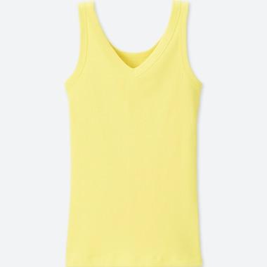 WOMEN Supima Cotton Ribbed Tank Top