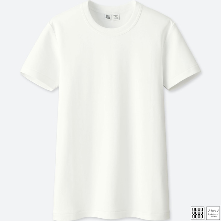 0e111ef47f4a WOMEN UNIQLO U COTTON CREW NECK T-SHIRT