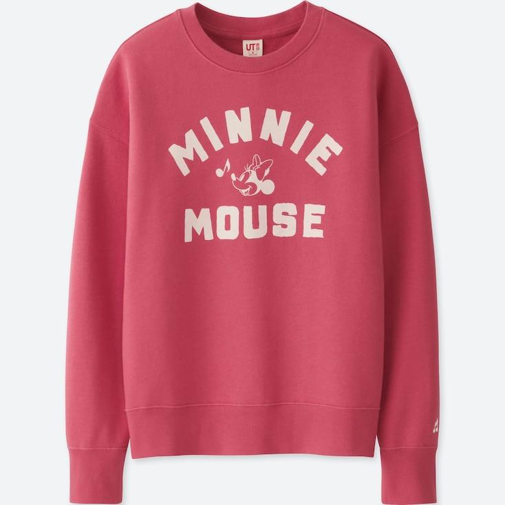 Women Sounds Of Disney Long-Sleeve Pullover Sweatshirt, Pink, Large