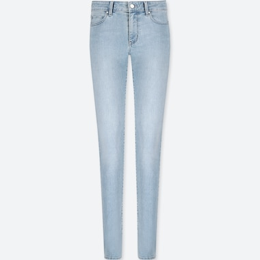 WOMEN ULTRA STRETCH MID RISE SKINNY FIT JEANS (L33)