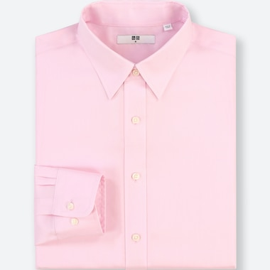 MEN EASY CARE REGULAR FIT OXFORD SHIRT (REGULAR COLLAR)