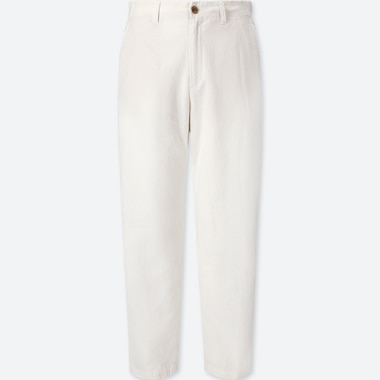 dc97a4602e WOMEN COTTON LINEN RELAXED PANTS