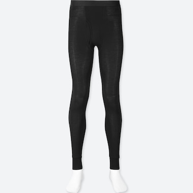 MEN HEATTECH TIGHTS, BLACK, medium
