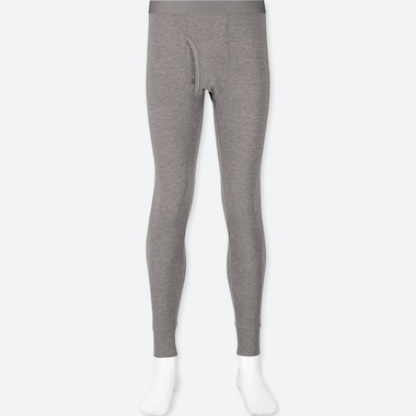 MEN HEATTECH ULTRA WARM LONG JOHNS, GRAY, medium