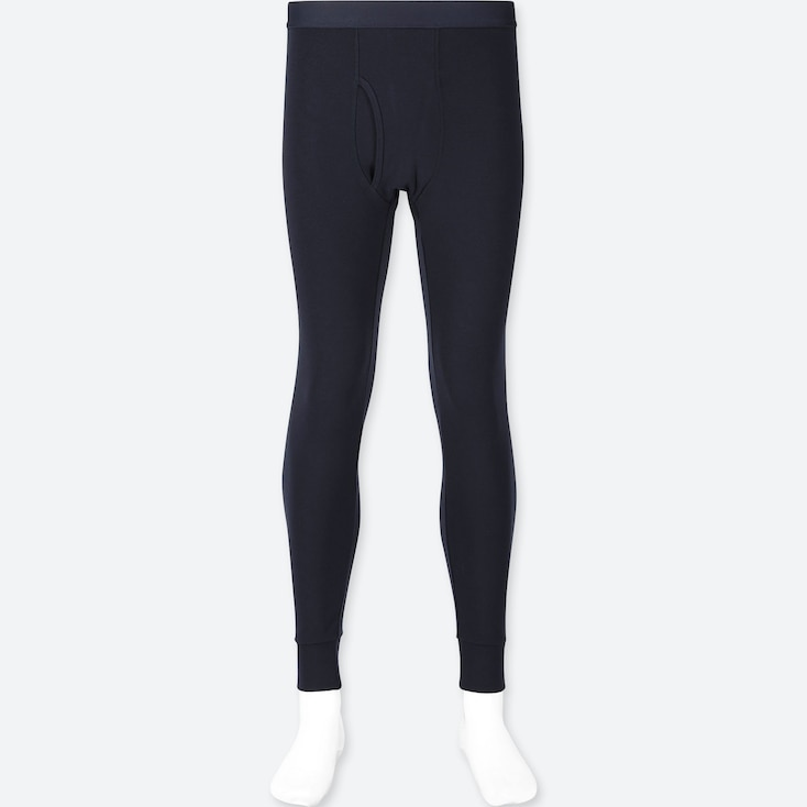 MEN HEATTECH ULTRA WARM LONG JOHNS, NAVY, large