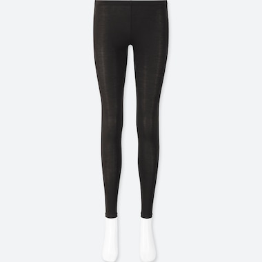 WOMEN HEATTECH JERSEY THERMAL LEGGINGS