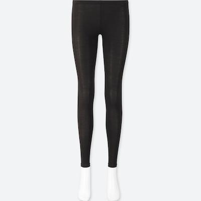 Women Heattech Jersey Thermal Leggings  (35) by Uniqlo
