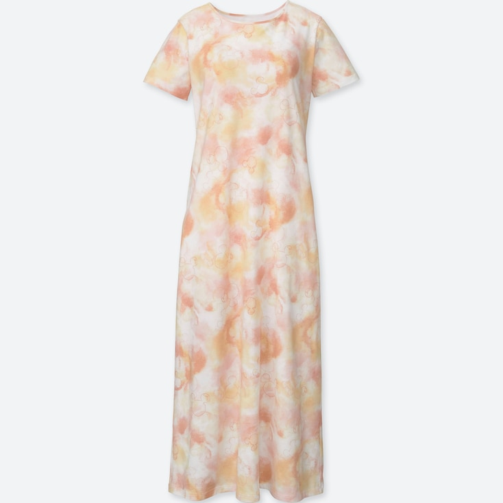 WOMEN MICKEY & THE SUN GRAPHIC BRA DRESS, PINK, large